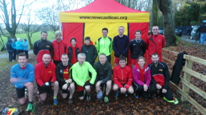 The team at the Malcolm Cup XC 2014