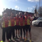 NAC team at Belfast Marathon Relay