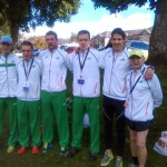 Seamus Lynch 3rd from left with Irish Team